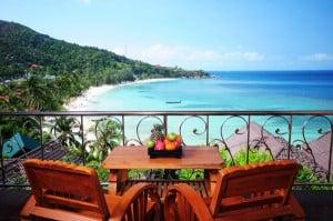 Haad Yao Bay View Resort auf Koh Phangan. Tagesausflüge, Schnorcheln bei Koh Tao, Tauchen, Insel hüpfen uvm. können Sie von hier aus durchführen.