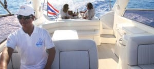 "Samui Boat Charter - Your Sunseeker Samui Private Yacht ""Clear Sky"""