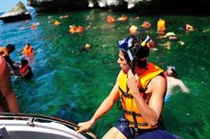 Koh Samui Schnorcheln per Speedboot gebucht mit Easy Day Samui