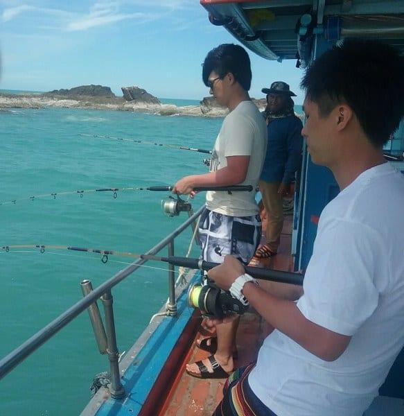 fishing in Samui