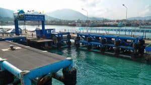 Ferry Piers on Samui Island - Nathon Pier