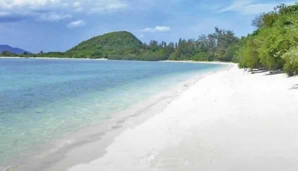 Beach at Koh Madsum