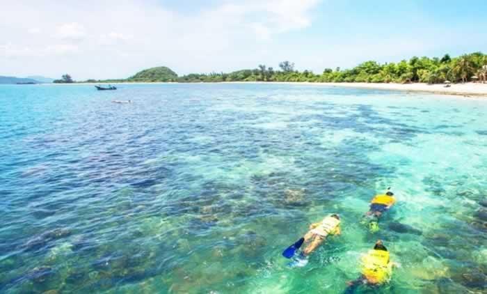 Snorkeling at Koh Madsum