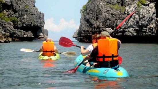 Samui Kayaking & Snorkeling at Ang Thong