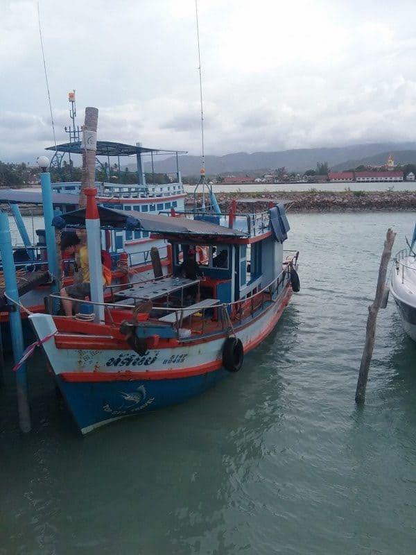 Fishing boat in Koh Samui