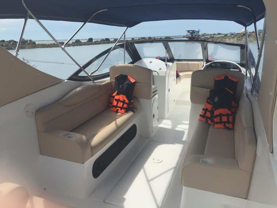 Samui Speedboat Charter Interior